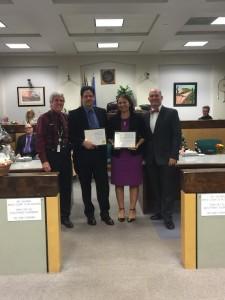 Judge Sullivan, Adam Woodrum, Homa Woodrum, Judge Hoskin